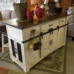 Photo Of Rail Creek Furniture   Spokane, WA, United States. Rustic Kitchen  Island