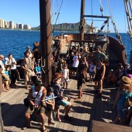 Photos For Hawaii Pirate Ship Adventures Yelp - Pirate ship cruise hawaii