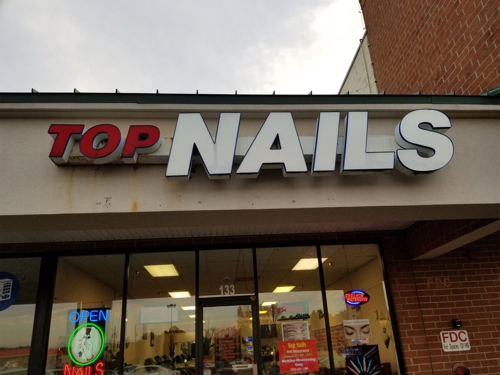 Top Nails: 133 Nashville Commons Dr, Nashville, NC