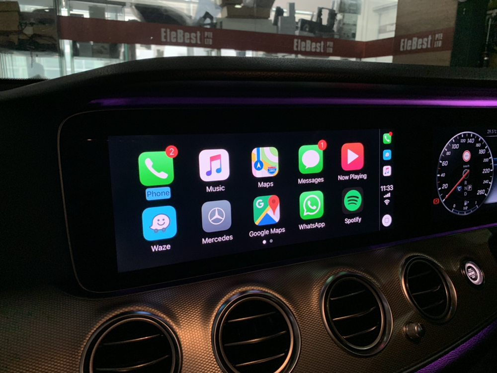 CarPlay and Google Map and Waze Map Activation in Mercedes W213 - Yelp