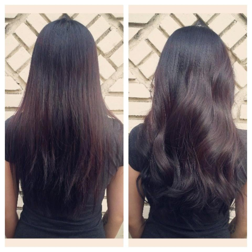 Before And After Sew In Hair Extensions For Volume By Chandra