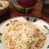 Photo Of Olive Garden Italian Restaurant   Rochester, NY, United States.  Shrimp Alfredo