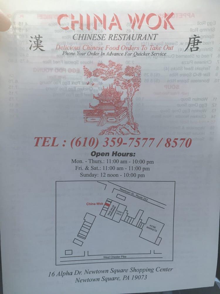 Chinese Restaurant Near Newtown Pa