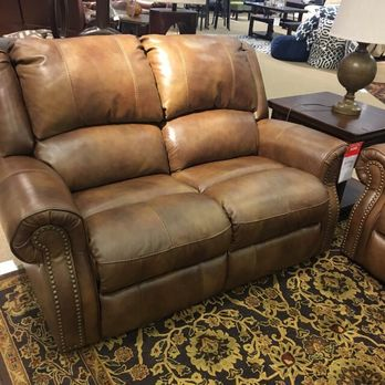 Photo Of Ashley HomeStore   Tupelo, MS, United States. Reclining Leather  Love Seat
