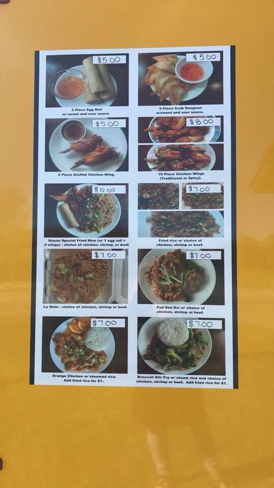 Y12 Asian Food Truck: 304 N Walton Blvd, Bentonville, AR