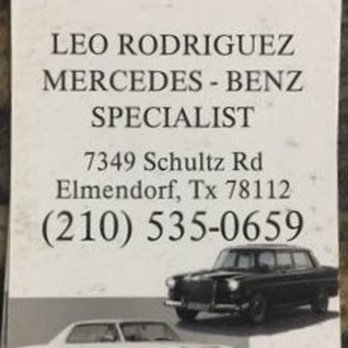 Doctor leo mercedes benz auto clinic closed auto for Mercedes benz specialist near me