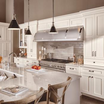 KraftMaid White Kitchen Cabinets. Updated Kitchen Available ...