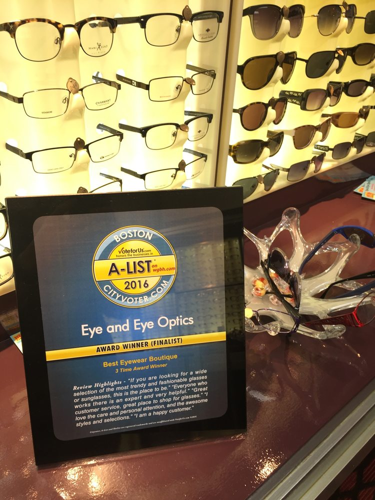 Eye & Eye Optics: 2271 Dorchester Ave, Boston, MA