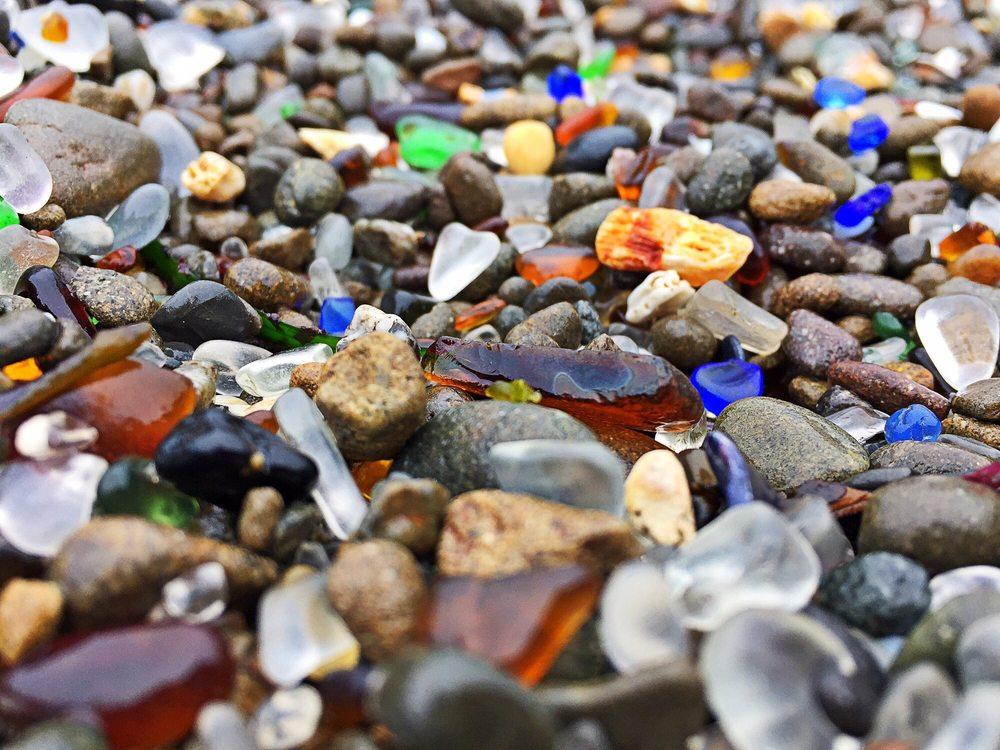 Glass Beach: Fort Bragg, CA