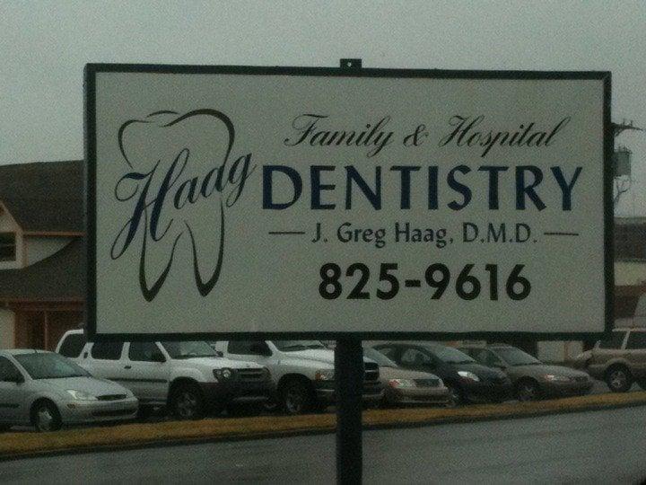 Haag, J Greg DMD: 1250 Thornberry Dr, Madisonville, KY