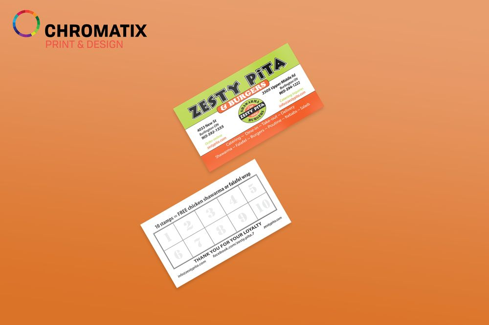 Business cards mississauga business cards brampton business photo of chromatix printing mississauga on canada business cards mississauga business reheart Gallery