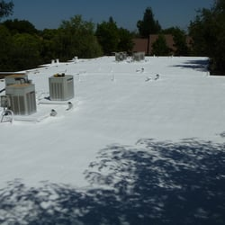Photo Of Straight Edge Roofing   Atwater, CA, United States. Polyurethane  Foam System