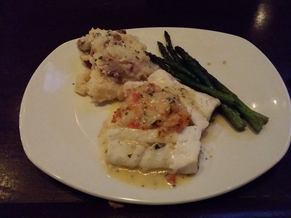 Lobster shrimp stuffed cod yelp for Mitchell s fish market rochester
