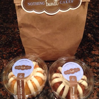 Nothing Bundt Cakes San Diego Menu