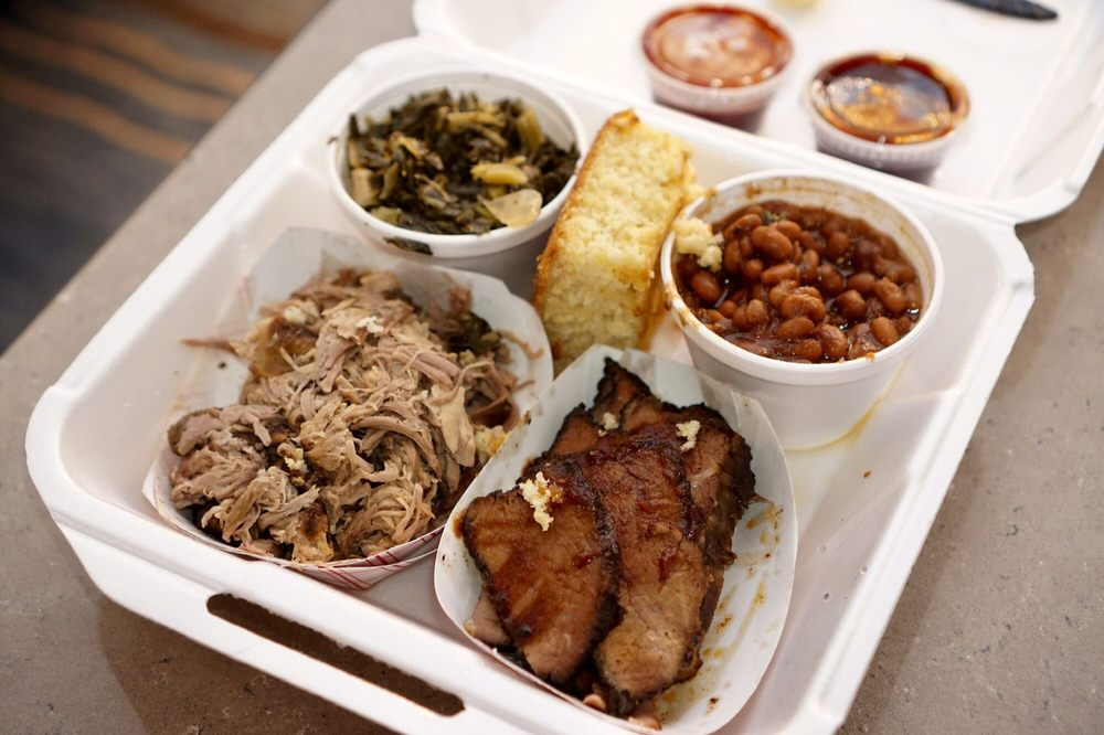 Food from Chester's Barbecue