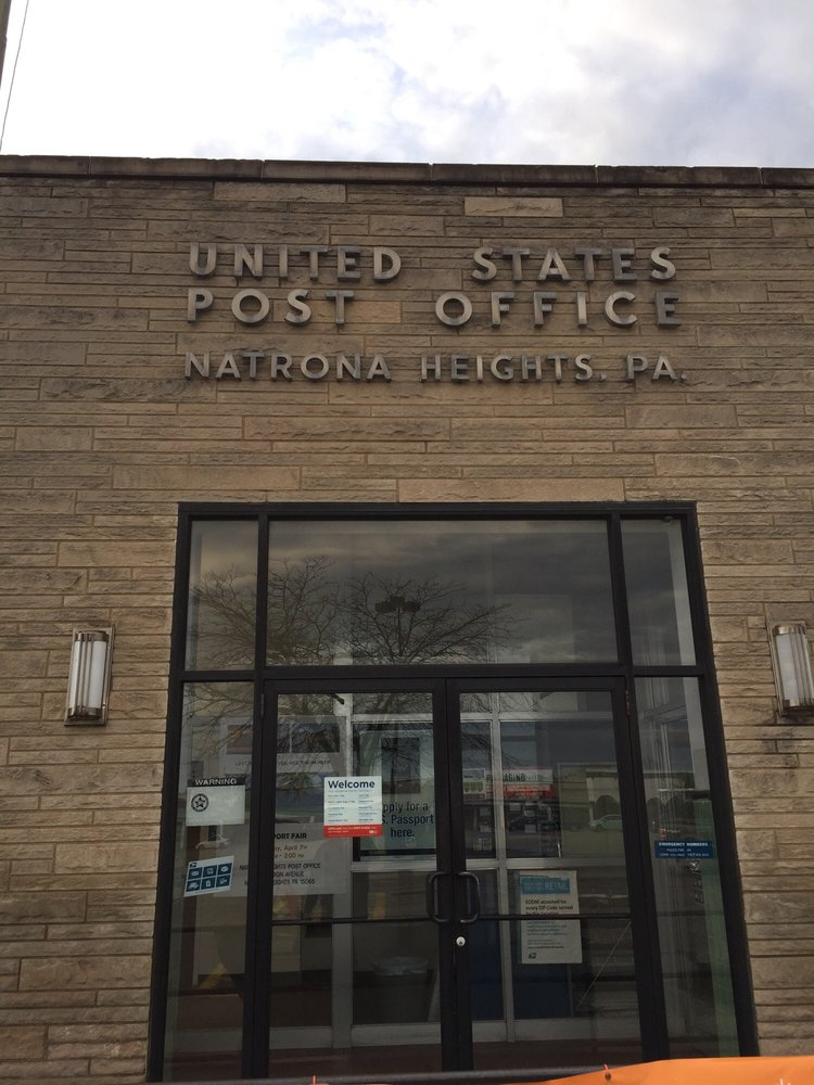 US Post Office: 1715 Union Ave, Natrona Heights, PA