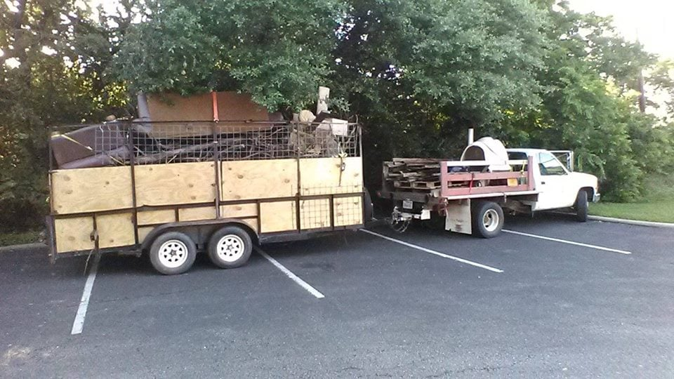 Our Trailer measures 16ft long, 6.5ft wide and 6.5ft high for a ...