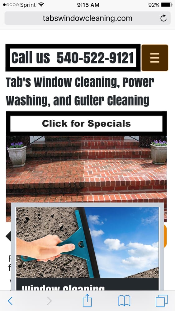 Tabs window cleaning: Bealeton, VA