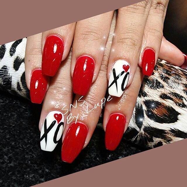 SNS nails (dipping powder ) with nail designs ! - Yelp
