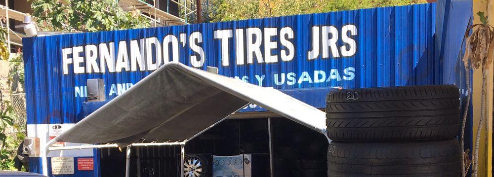 Fernando's Tires: 1301 W Sunset Blvd, Los Angeles, CA