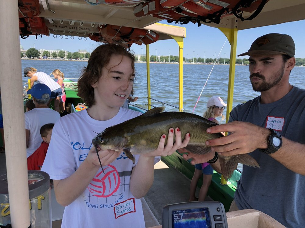 Social Spots from Family Fishing Adventures