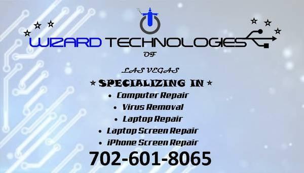wizard technologies it services computer repair centennial