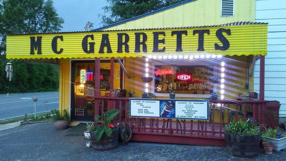 M C Garrett's: 1738 Hwy 231, Alford, FL