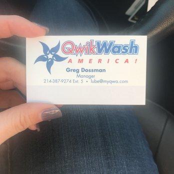 Qwik Wash America Rewards
