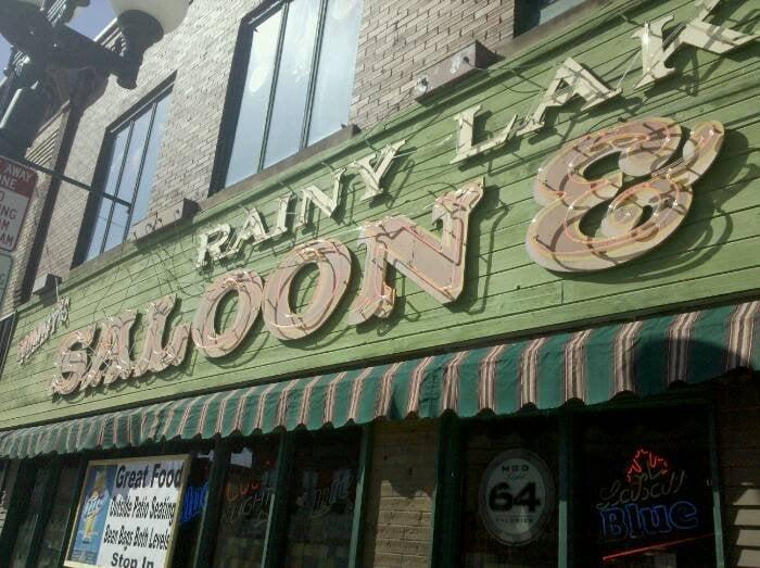 Rainy Lake Saloon & Pizza: 209 Chestnut St, Virginia, MN
