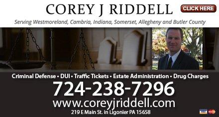 Law Office of Corey J Riddell: 219 E Main St, Ligonier, PA