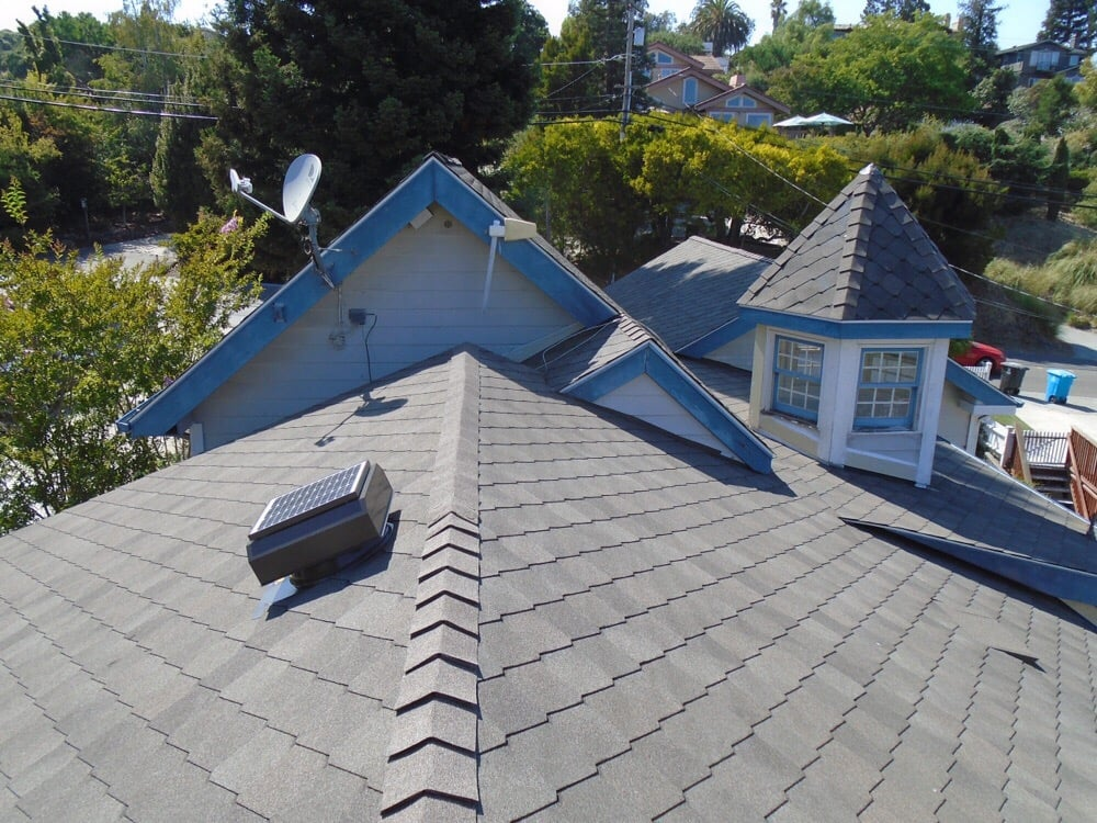 Photo Of Saber Roofing   Woodside, CA, United States. GAF Sienna Shingle