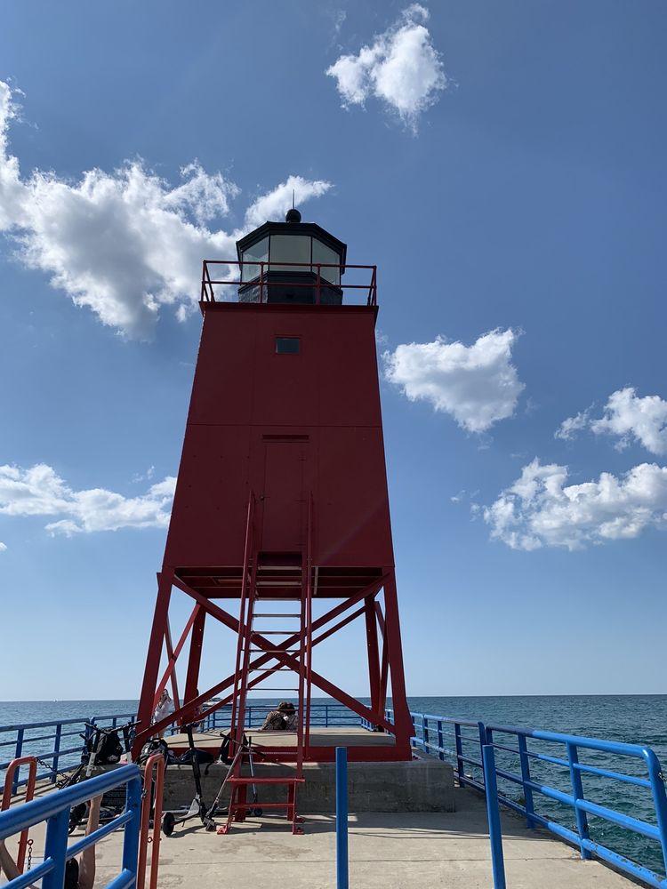 Charlevoix Lighthouse: 2 Grant St, Charlevoix, MI