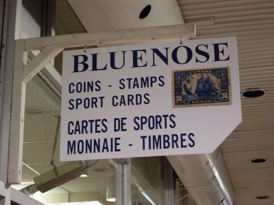 Cartes De Sport Monnaie & Timbres Bluenose