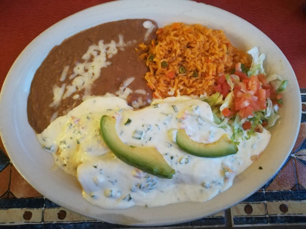 Food from Cancun Mexican Grill & Cantina
