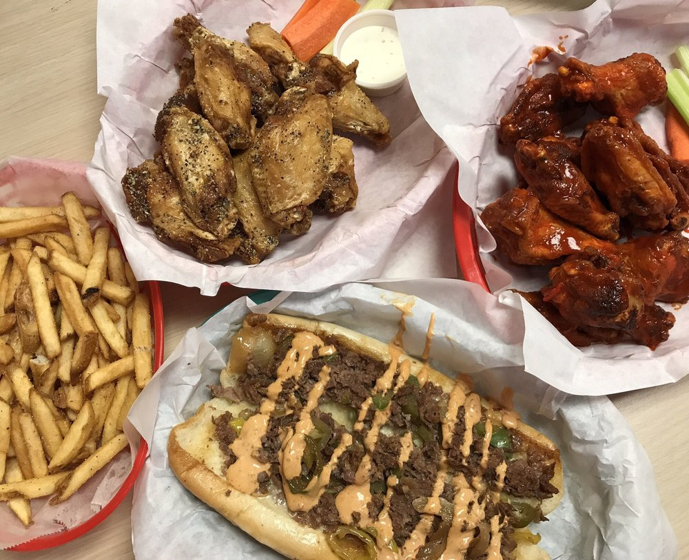 Food from Cheesesteak House