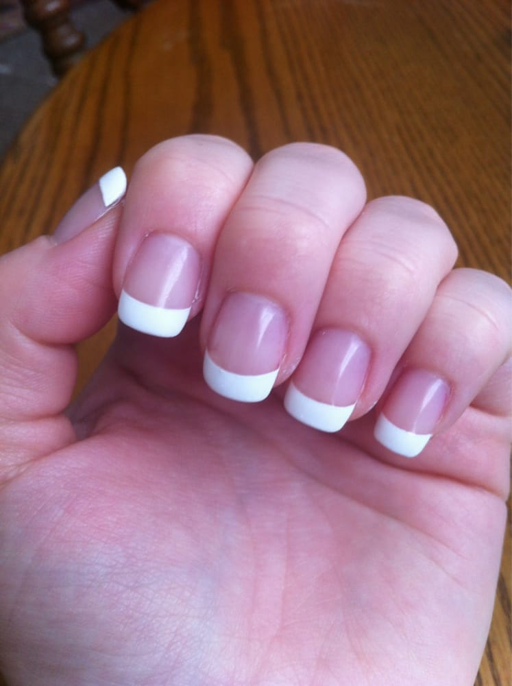 Overlay French manicure with gel finish - Yelp