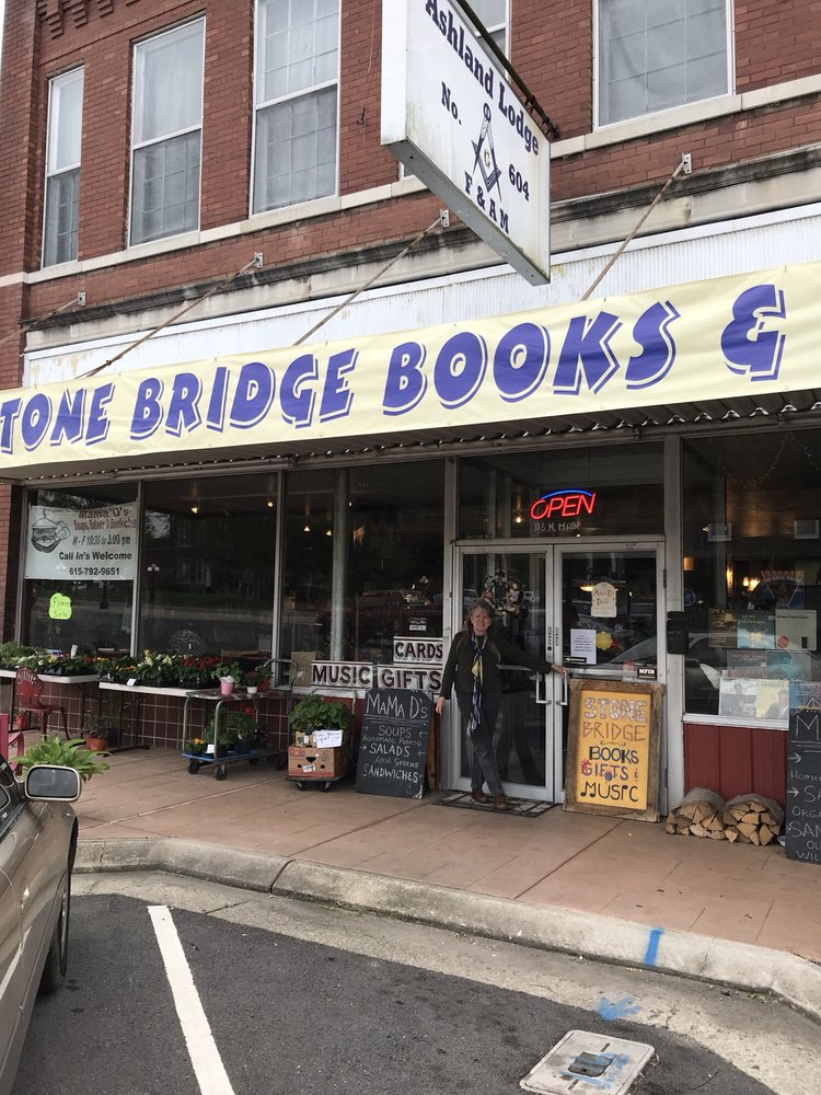 Stone Bridge Books & Gifts: 116 North Main St, Ashland City, TN
