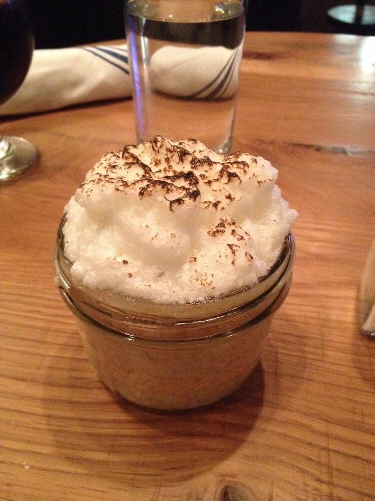 Banana Caramel Pudding With Meringue Topping Recipe — Dishmaps