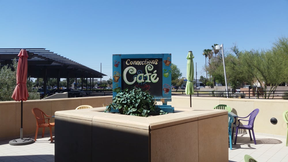 Connections Cafe: 3500 S Rural Rd, Tempe, AZ