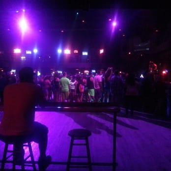 Teen night at cowboys dance hall