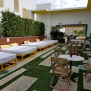 Rooftop Photo Of Vintro Hotel South Beach Miami Fl United States