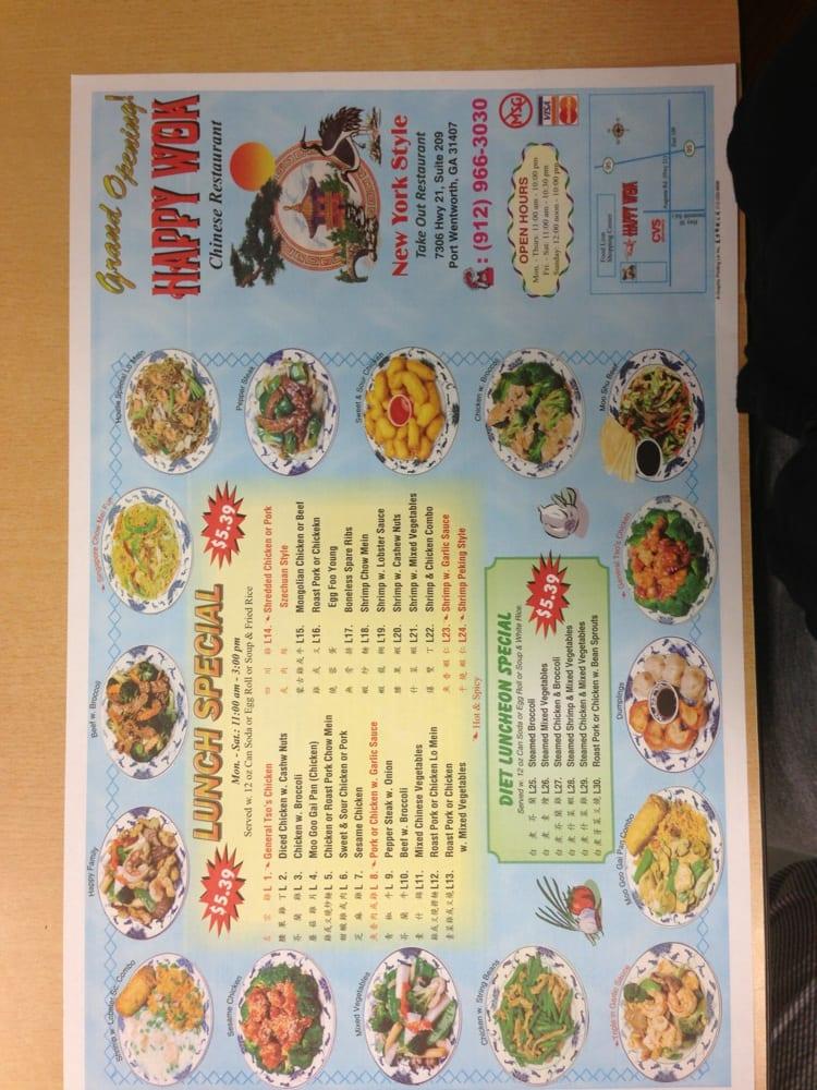 Su Good Chinese Restaurant Menu