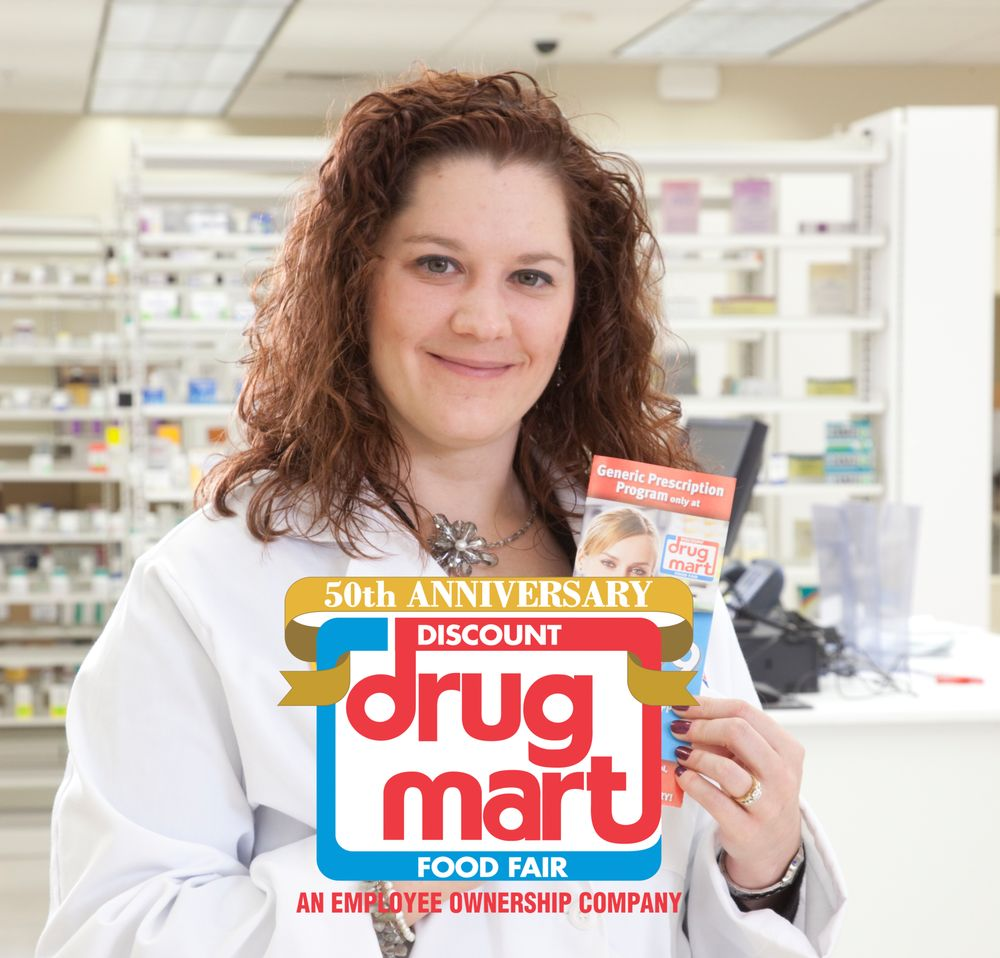 Discount Drug Mart: 525 W Marion Rd, Mount Gilead, OH