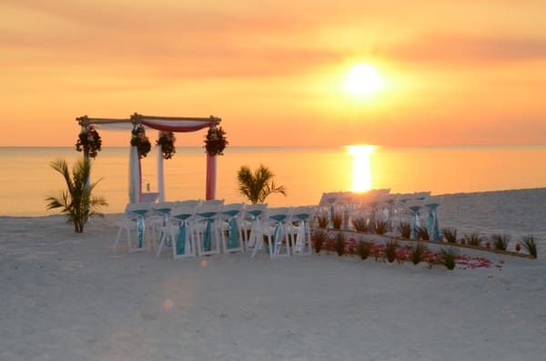 Photo For Sunset Beach Weddings