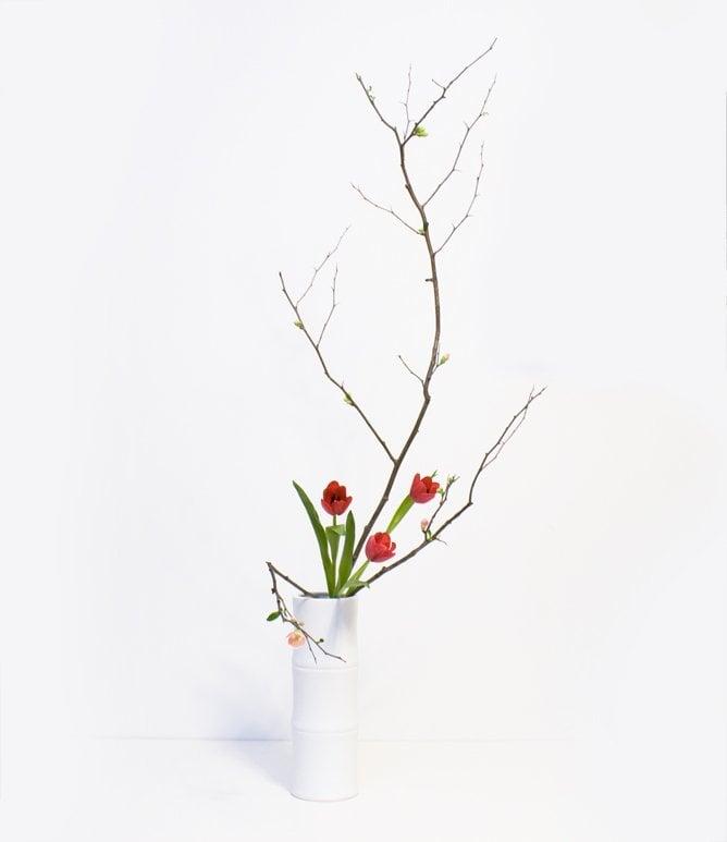 Modern Amp Contemporary Ikebana Arrangement The Flower