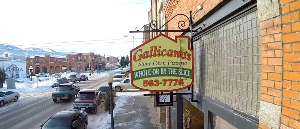 Gallicano's Pizzeria: 118 E Park Ave, Anaconda, MT