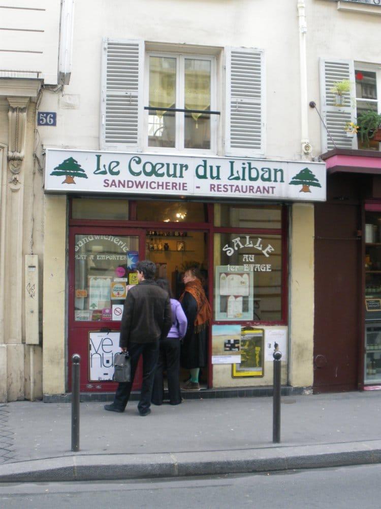 le coeur du liban libanees 56 rue de lancry canal st martin gare de l 39 est parijs paris. Black Bedroom Furniture Sets. Home Design Ideas