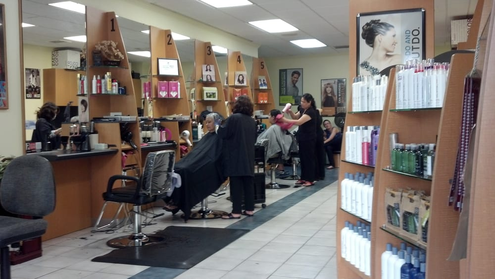 Inside of the makiki fantastic sams yelp for Sams salon