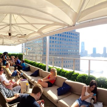 The Loopy Doopy Rooftop Bar Lounges Battery Park New
