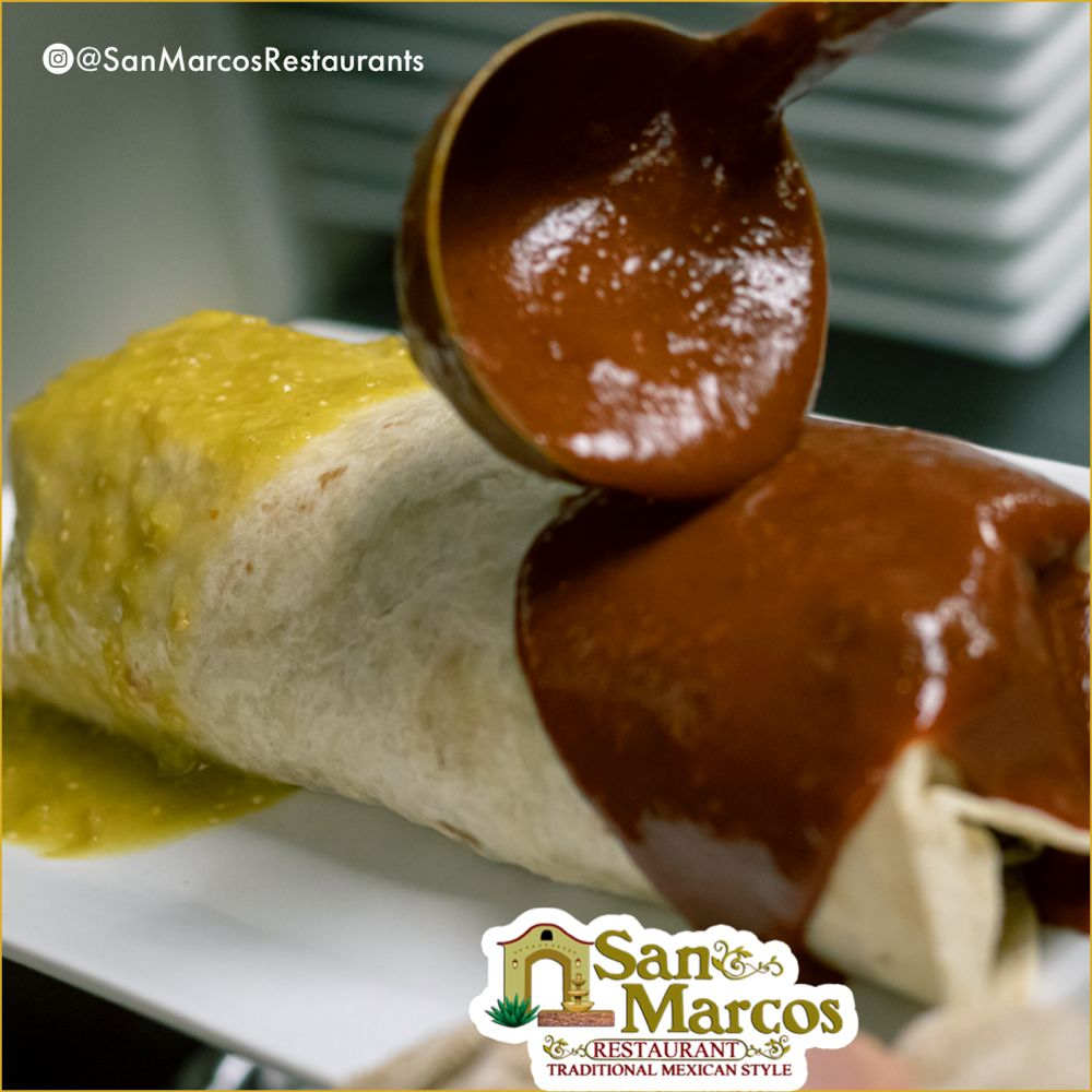 Food from San Marcos Mexican Restaurant